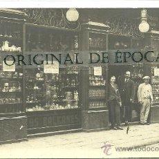 Postales: (PS-30657)POSTAL FOTOGRAFICA DE BARCELONA-COMERCIO LOS BALKANES. Lote 35566640