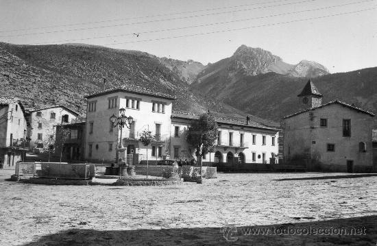 GOSOL. PLAÇA I MONTANYA DEL PEDRAFORCA (Postales - España - Cataluña Antigua (hasta 1939))