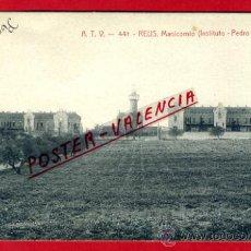 Postales: POSTAL REUS, TARRAGONA, ATV 441 , MANICOMIO INSTITUTO PEDRO MATA , ORIGINAL , P75208. Lote 35595763