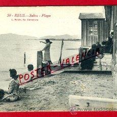 Postales: POSTAL REUS , TARRAGONA , SALOU PLAYA , P75300. Lote 35604855