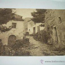 Postales: ANTIGUA POSTAL......TOSSA DE MAR.....CALLE DE VILA VELLA.. Lote 35616461