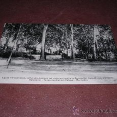 Postales: FIGUERES - BALNEARIO MERCEDES , PASEO CENTRAL DEL PARQUE 14X9 CM. . Lote 35656450