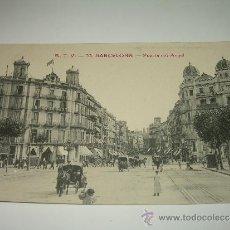 Postales: ANTIGUA POSTAL.....BARCELONA....PUERTA DEL ANGEL.. Lote 44567061