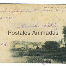Postales: (A01971) SANT CUGAT DEL VALLES - VISTA GENERAL - GRAU Nº10. Lote 35808766