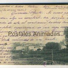 Postales: (A01972) SANT CUGAT DEL VALLES - VISTA GENERAL - GRAU Nº10. Lote 35808783