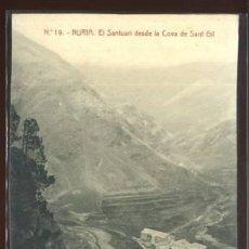 Postales: (A02478) NURIA - EL SANTUARI DESDE LA COVA DE SANT GIL - THOMAS Nº19. Lote 100145012