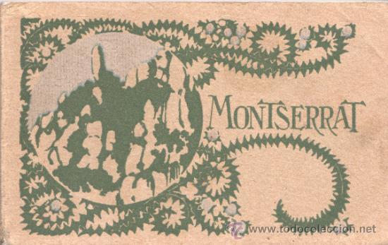 BLOC DE POSTALES DE MONTSERRAT DE U.I.O.G.D FOTOS 80 (Postales - España - Cataluña Antigua (hasta 1939))