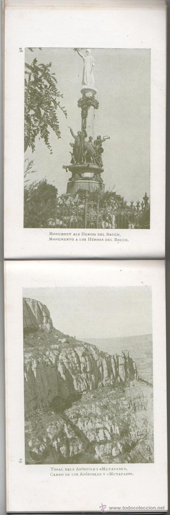 Postales: bloc de postales de montserrat de U.I.O.G.D FOTOS 80 - Foto 5 - 35855146