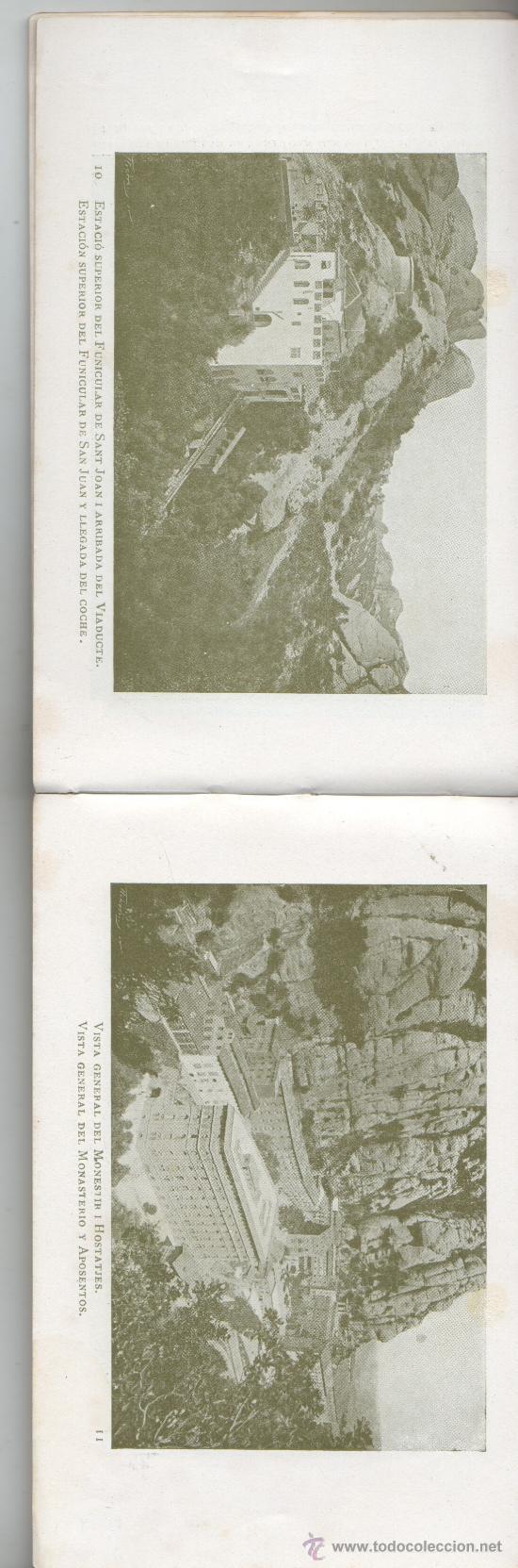 Postales: bloc de postales de montserrat de U.I.O.G.D FOTOS 80 - Foto 4 - 35855146
