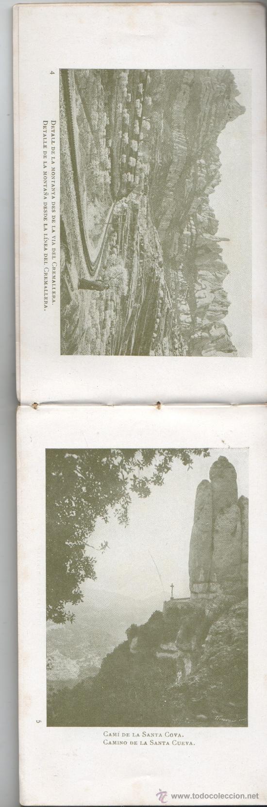 Postales: bloc de postales de montserrat de U.I.O.G.D FOTOS 80 - Foto 3 - 35855146