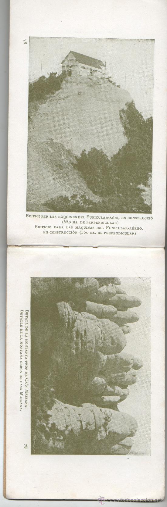 Postales: bloc de postales de montserrat de U.I.O.G.D FOTOS 80 - Foto 2 - 35855146