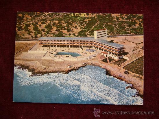 POSTAL GRAN HOTEL CARLOS III. CTRA. BARCELONA-TARRAGONA. ALCANAR. PLAYA. F. CASTELL ARASA. (Postales - España - Cataluña Moderna (desde 1940))