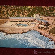 Postales: POSTAL GRAN HOTEL CARLOS III. CTRA. BARCELONA-TARRAGONA. ALCANAR. PLAYA. F. CASTELL ARASA.. Lote 35851395