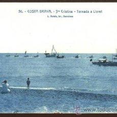 Postcards - (a03170) Lloret De Mar - Sta Cristina - Tornada A Lloret - Roisin Nº56 - 35894961