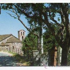 Postales: MONSERRAT. SANTA CECILIA. CAPELLA ROMÁNICA.. Lote 36036003