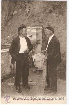 LAS GUILLERIAS. ELS GUIAS DE MONTANYA. ED.ANGEL TOLDRA VIAZO ESCRITA - VELL I BELL (Postales - España - Cataluña Moderna (desde 1940))