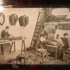 Postales: BARCELONA - TALLERES DE GUARNICIONERO. Lote 36147681