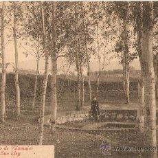 Postales: POSTAL SANT ANTONI VILAMAJOR FUENTE DE SAN LEY. Lote 36387350