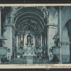 Postales: S. FELIU DE CODINAS - 7 - INTERIOR DE LA IGLESIA - ED. CRISTOBAL NAVARRO - (14.365). Lote 36473016