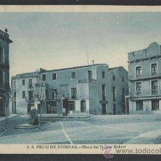 Postales: S. FELIU DE CODINAS - 9 - PLAZA DEL DR. ROBERT - ED. CRISTOBAL NAVARRO - (14.367). Lote 36473041