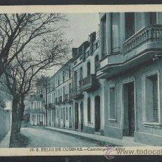 Postales: S. FELIU DE CODINAS - 10 - CARRETERA DE CALDAS - ED. CRISTOBAL NAVARRO - (14.368). Lote 36473057