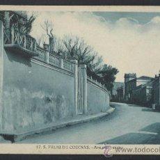 Postales: S. FELIU DE CODINAS - 12 - AVENIDA VERANO - ED. CRISTOBAL NAVARRO - (14.370). Lote 36473100