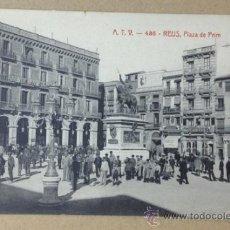 Postales: ATV - 438. REUS. PLAZA DE PRIM. . Lote 36488123
