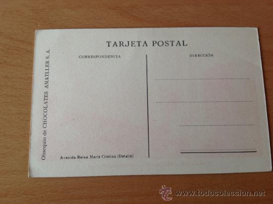 Postales: LOTE POSTALES EXPOSICION INTERNACIONAL DE BARCELONA 1929 OBSEQUIO CHOCOLATES AMATLLER, S.A. - Foto 2 - 36527092