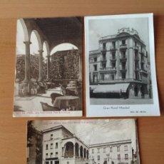 Postales: LOTE DE POSTALES LA SEO DE URGEL ///SEU D,URGELL. Lote 36527510
