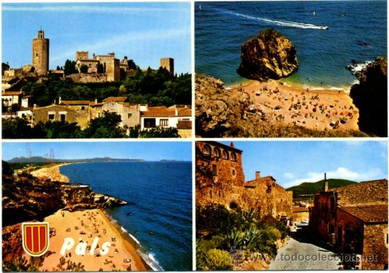 POSTAL GIRONA - PALS (Postales - España - Cataluña Moderna (desde 1940))