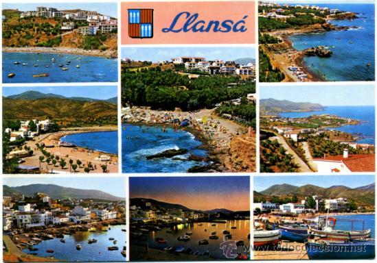 POSTAL GIRONA - LLANSÁ (Postales - España - Cataluña Moderna (desde 1940))