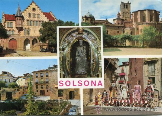 SOLSONA -- CIRCULADA (Postales - España - Cataluña Antigua (hasta 1939))