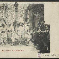 Postales: CENTELLAS - BALL DE BASTONS - COSTA - (14.668). Lote 36593584