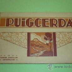 Postales: PUIGCERDA. BLOC 12 POSTALS. TEXTE CASTELLÀ I FRANCÉS. Lote 36595462