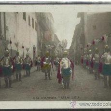 Postales: MANLLEU - COS D´ARMATS - FOTOGRAFICA - (14.745). Lote 36631295