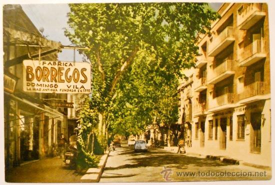 'CARDEDEU' -AVDA. DEL CAUDILLO- POSTAL AÑO 1964 EDICIONES RAE (Postales - España - Cataluña Antigua (hasta 1939))