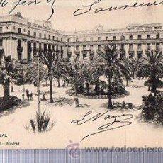 Postales: TARJETA POSTAL BARCELONA, PLAZA REAL, HAUSER Y MENET 637. Lote 36654125