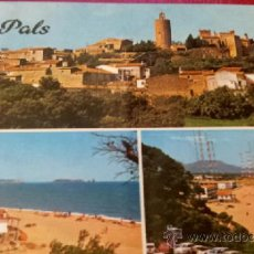 Postales: POSTAL PALS - GERONA - COSTA BRAVA - POSTALES INTERNACIONALES COLOR. Lote 36720001