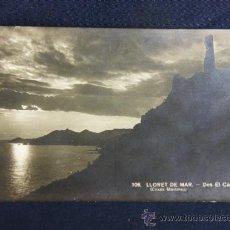 Postales: POSTAL FOTOGRÁFICA 106 LLORET DE MAR DES EL CASTELL DESDE EL CASTILLO CLIXÉS MARTÍNEZ SIN CIRCULAR. Lote 37003719