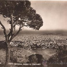 Postales: BARCELONA - 524 - VISTA GENERAL DESDE EL TIBIDABO - ZERKOWTIZ - SIN CIRCULAR. Lote 36843008