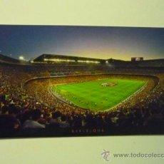 Postales: POSTAL FUTBOL PANORAMICA ESTADIO .F.C.BARCELONA. Lote 36881336