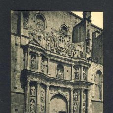 Postales: POSTAL DE MONTBLANC: NOU FRONTIS DE SANTA MARIA FET EL 1668 (ROISIN NUM. 23). Lote 36883849