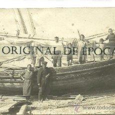 Postales: (PS-31889)POSTAL FOTOGRAFICA DE ALTAFULLA-BARCAS Y PESCADORES. Lote 36893440