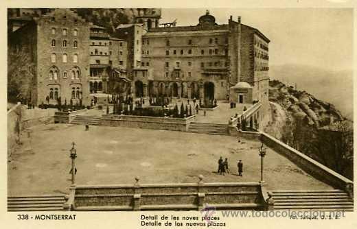 Postales: LOTE 36 POSTALES MONTSERRAT BARCELONA - Foto 3 - 36897133