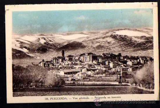PUIGCERDA. NO CIRCULADA. (Postales - España - Cataluña Antigua (hasta 1939))