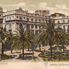 Cartes Postales: BARCELONA - 23 - PLAZA REAL - UNIÓN POSTAL UNIVERSAL - CIRCULADA - 1907. Lote 36923220