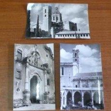 Postales: LOTE 3 POSTALES ARCHIVO CUYÁS. TARRAGONA, SANTES CREUS.. Lote 36937269
