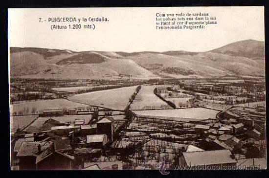 PUIGCERDA. CIRCULADA. (Postales - España - Cataluña Antigua (hasta 1939))