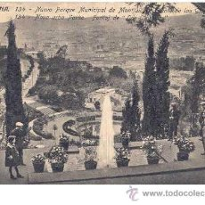 Postales: BARCELONA - NUEVO PARQUE MUNICIPAL DE MONTJUÏCH. Lote 26422588