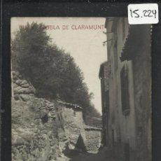 Postales: POBLA DE CLARAMUNT - 3 - FOTOGRAFICA - (15.224). Lote 37053606